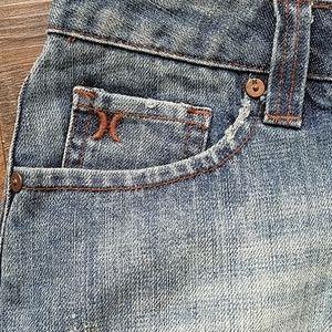 Hurley Skirts - Hurley denim mini skirt size 5